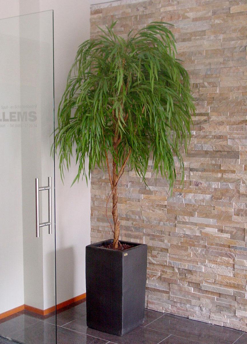 Treurwilg kunstboom, in elk model en afmeting verkrijgbaar.