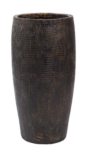 Croco Design. Kunststof plantenbak met krokodillen huid look buitenkant. Leverbaar in diverse maten en modellen. Te bestellen in onze webshop.
