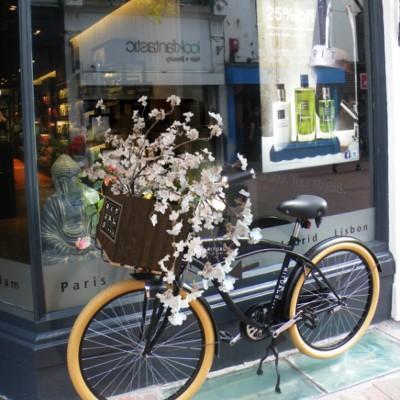 Rituals – fietskrat met bloesem